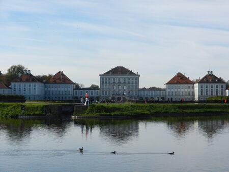 nymphenburg palace: Nymphenburg Palace, Munich, Bavaria, Germany Editorial