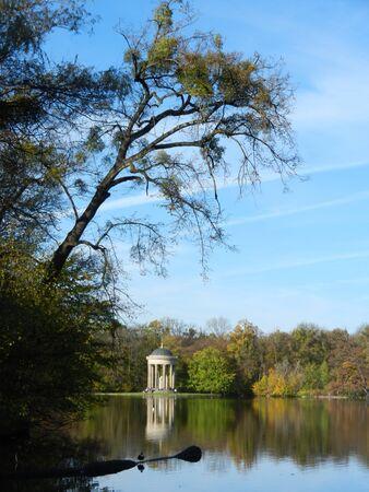 nymphenburg palace: Park of Nymphenburg Palace, Munich, Bavaria, Germany