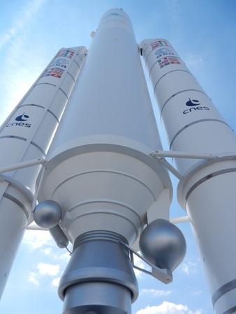 Ariane rocket, Aerospace Museum, Le Bourget Airport, Paris, France Editöryel