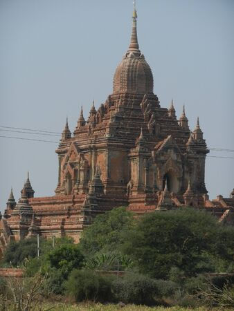 bagan: Htilominlo Pahto, Bagan, Myanmar Stock Photo