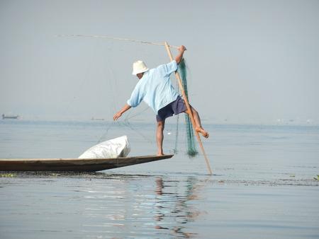 inle: Inle Lake, Myanmar Stock Photo