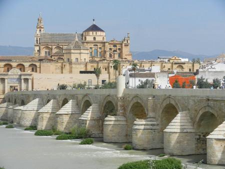 cordoba: The Mezquita and the Roman Bridge, Cordoba, Andalusia, Spain