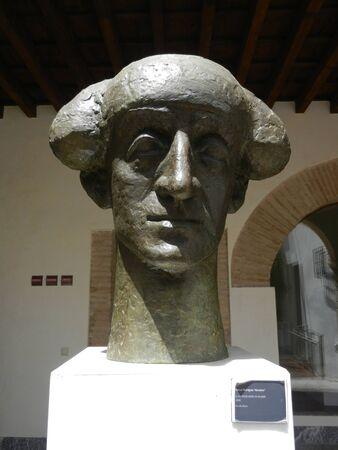 cordoba: Manolete statues, Cordoba, Andalusia, Spain Stock Photo