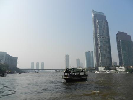 chao phraya river: The Chao Phraya River, Bangkok, Thailand Stock Photo
