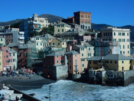 liguria: Boccadasse, Genoa, Liguria, Italy