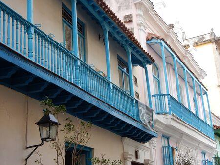 colonial building: Old spanish colonial building in Havana, Cuba