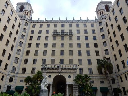 havana cuba: Hotel Nacional, Vedado, Havana, Cuba Editorial