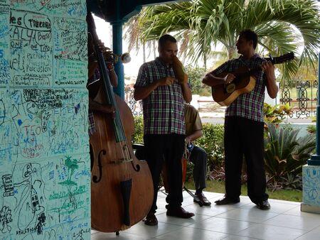varadero: Musicians in Varadero, Cuba
