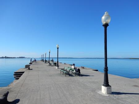 Cienfuegos waterfront, Cuba