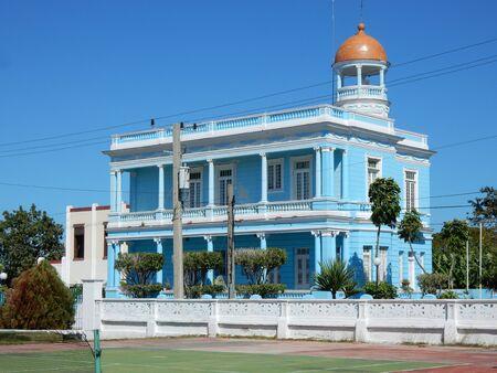 azul: Palacio Azul, Punta Gorda, Cienfuegos, Cuba