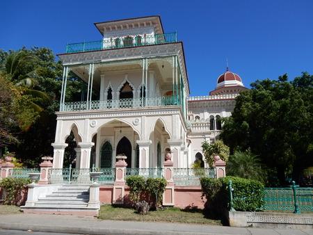 palacio: Palacio de Valle, Punta Gorda, Cienfuegos, Cuba