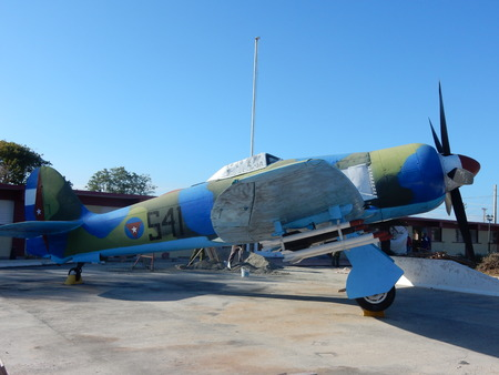 fury: Hawker Sea Fury, Museum Playa Giron, Cuba