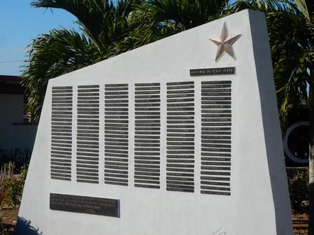 playa: Playa Giron Memorial, Cuba