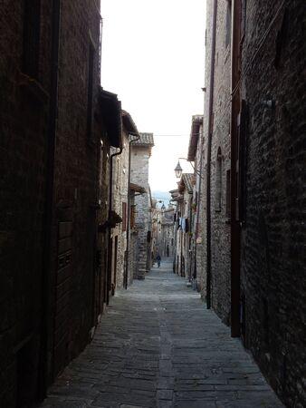 umbria: Old medieval town Gubbio, Umbria, Italy