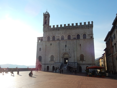umbria: Palazzo dei Consoli, Gubbio, Umbria, Italy