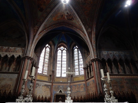 francis: Upper basilica St Francis, Assisi, Umbria, Perugia province, Italy Editorial