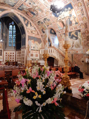 francis: Lower Basilica St Francis, Assisi, Umbria, Perugia province, Italy