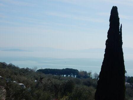 lago: Castiglione del Lago, Lake Trasimeno, Umbria, Italy
