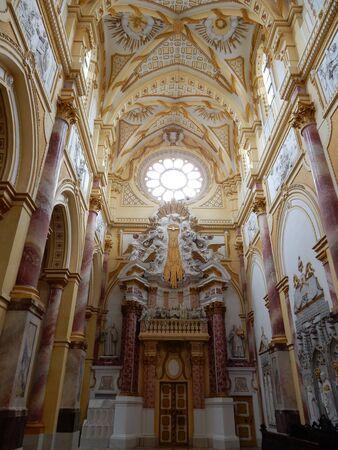 in bavaria: Ebrach Abbey, Franconia, Bavaria, Germany