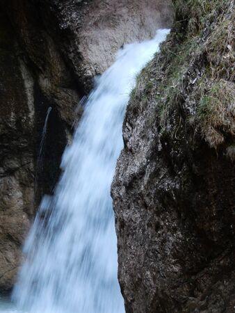 berchtesgaden: Almbachklamm gorge, Berchtesgaden, Bavaria, Germany Stock Photo