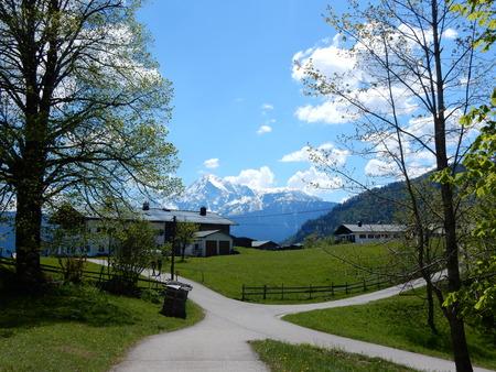 berchtesgaden: Ettenberg, Berchtesgaden, Bavaria, Germany Stock Photo