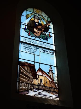 silent night: Oberndorf bei Salzburg Silent Night Chapel, Austria