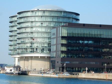 urban redevelopment: Gemini Residence, Islands Brygge, Copenhagen, Denmark