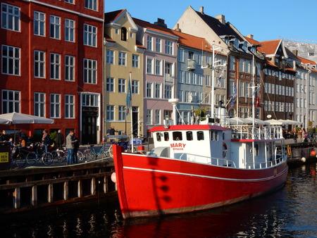 copenhagen: Nyhavn, Copenhagen, Denmark Stock Photo