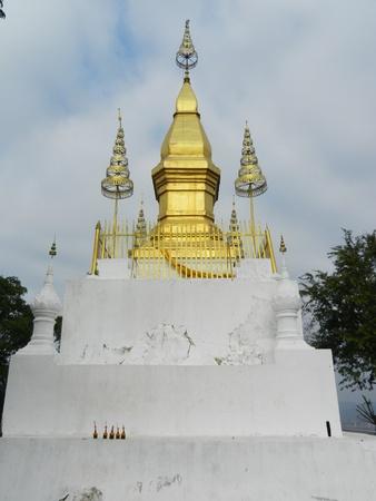 Mount Phou Si, Wat Chom Si, Luang Prabang, Laos