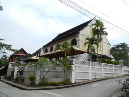 colonial building: colonial building in Luang Prabang, Laos