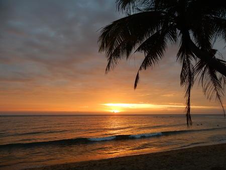 Ong Lang beach at sunset, Phu Quoc island, Vietnam