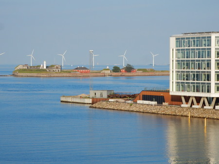 premises: Scenery in Nordhavn, Copenhagen, Denmark
