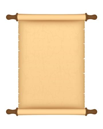 papiro: rotolo di pergamena