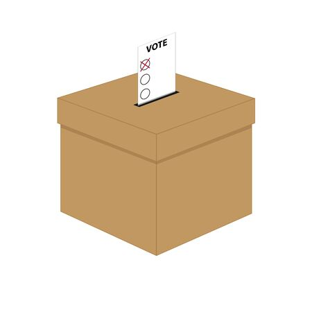 abstention: Ballot box