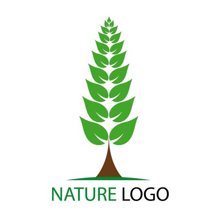 nature logo Stock Vector - 9680359