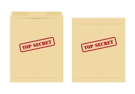 Top secret envelope Vector