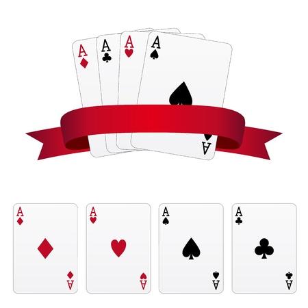 aces: Four aces