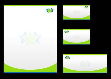 visual art: Corporate identity template