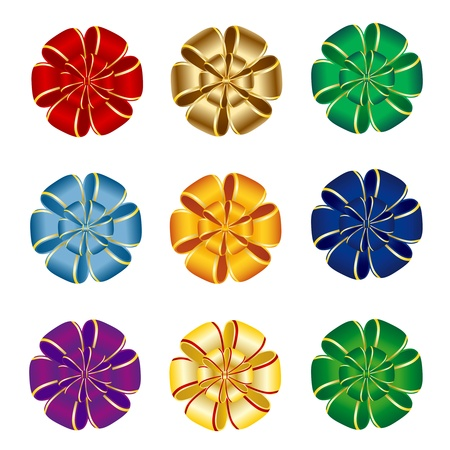 Bows collection Stock Vector - 9721003
