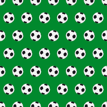 Football seamless background Stock Vector - 10682366