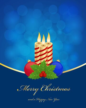 Christmas greetings background Vector