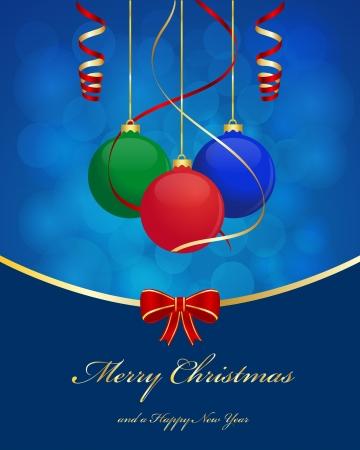 クリスマス ボールの背景