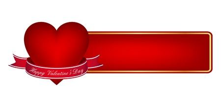 Valentine's day banner Stock Vector - 11497372