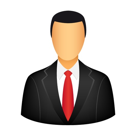 computer user: Businessman icon