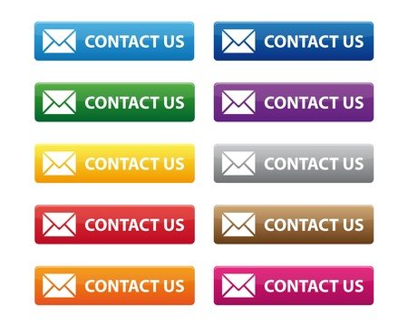 Contact us buttons Vector