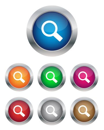 Search buttons Stock Vector - 14328090