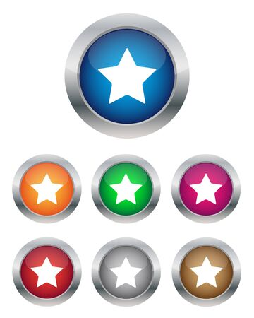 favorite: Star buttons
