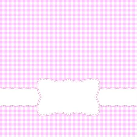 Pink retro frame