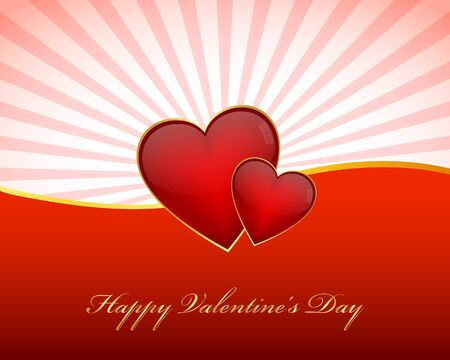 Valentines day wallpaper Stock Vector - 17520629