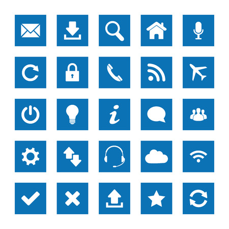 approved button: Square web icons